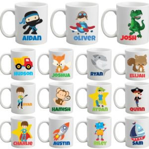 Boys Personalised MugCup